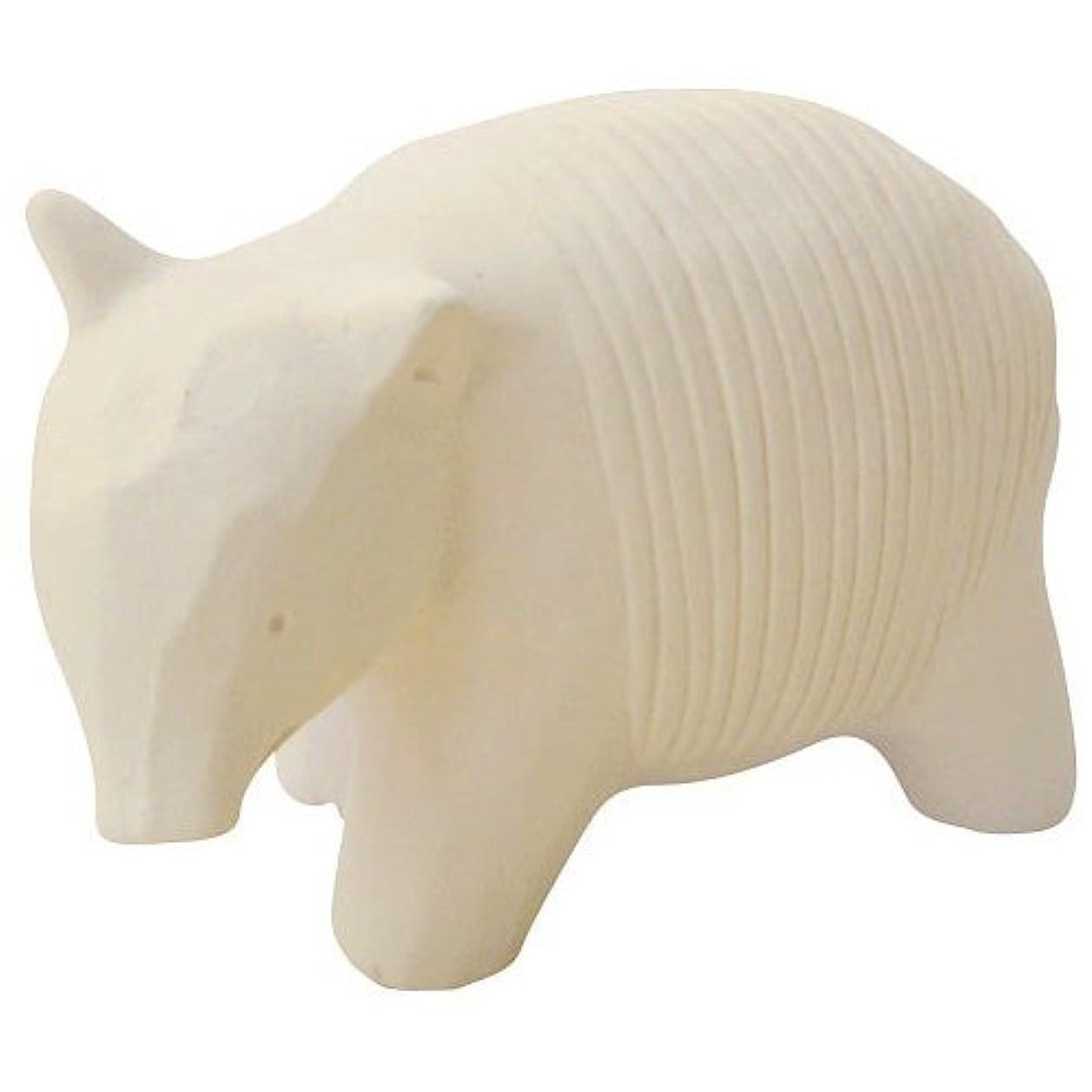許さないリーディスカウントのんびり動物 プチアロマ 白バク