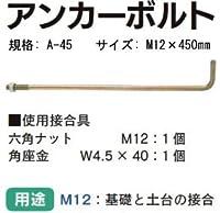 Z(ゼット) ZアンカーボルトM12 規格: A-45 417-1525 (50本)