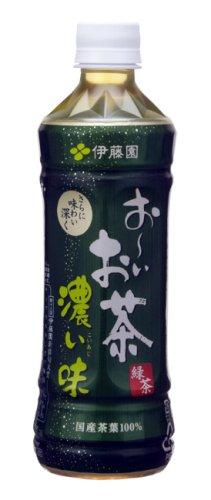 (お徳用ボックス) 伊藤園 お~いお茶 濃い味 500ml×24本