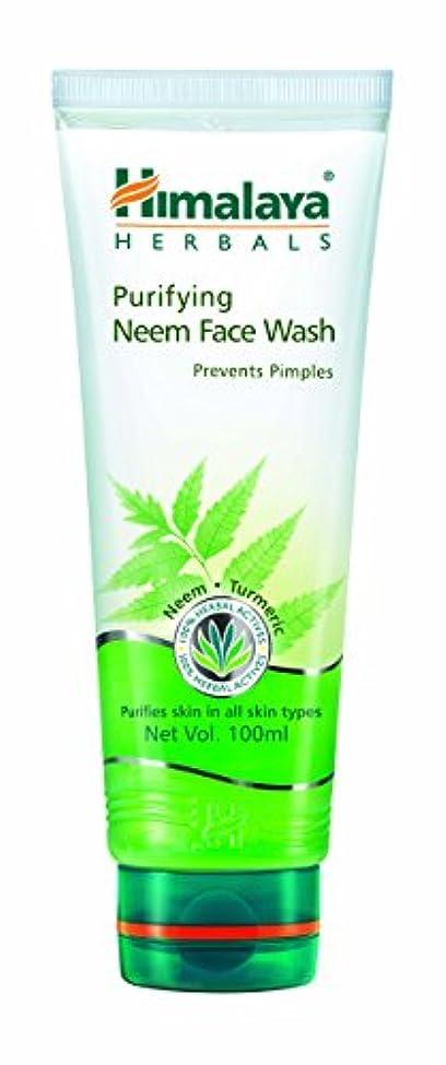 担当者極地ヘロインHimalaya Herbals Purifying Neem Face Wash 100ml (Prevents Pimples)