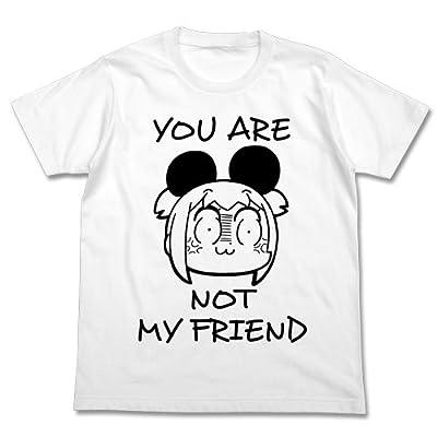 ポプテピピック ポプ子のけものTシャツ ホワイト Lサイズ