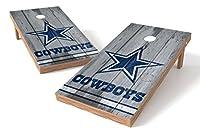 PROLINE NFL Dallas Cowboys 2'x4' Cornhole Board Set - Vintage Design [並行輸入品]