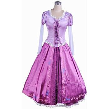 a66f31b0de5e0 ラプンツェル コスプレ ドレス 衣装 大人用 コスチューム レディース サイズ:M