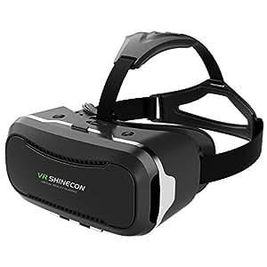 Bengoo 3d vr ゴーグル VRメガネ 3D動画 VR体験メガネ 立体動画 ヘッドマウント用 ヘッドバンド付き ゲーム 映画 ビデオ 超3D映像効果 4-6インチのスマートフォンに対応