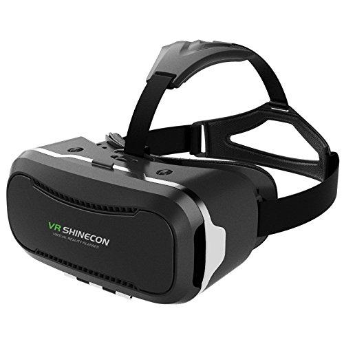 Bengoo VRメガネ 3DVR ゴーグル 3D動画 VR体験メガネ 立体動画 ヘッドマウント用 ヘッドバンド付き ゲーム 映画 ビデオ 超3D映像効果 4-6インチのスマートフォンに対応