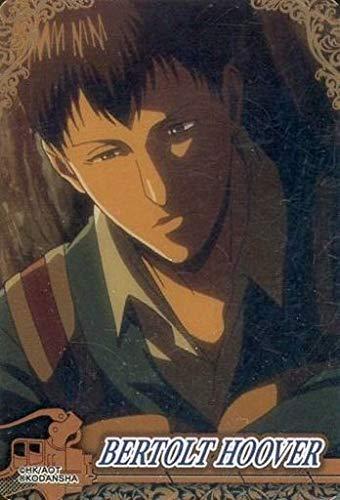 ベルトルト フーバー N BERTOLT HOOVER 進撃の巨人 コレクターズカード anime グッズ