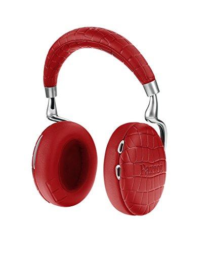 Parrot Zik 3 密閉型 ワイヤレスヘッドホン ノイズキャンセリング Bluetooth NFC Qiワイヤレス充電 Apple Watch対応 Red Crocodile PF562035 国内正規品