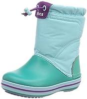[クロックス] クロックバンド ロッジポイント ブーツ キッズ 203509 Ice Blue/Tropical Teal 16.5 cm