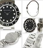 (ブルガリ)BVLGARIブルガリ ダイヤインデックス ブラック レディースミニ BB23BSS/12 ウォッチ 腕時計 シリアル有[並行輸入品]