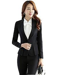 cc7864acd756a JKTOWN レディース 洋服 スーツ コート シャツ ジャケット ズボン スカート 2点セット ...