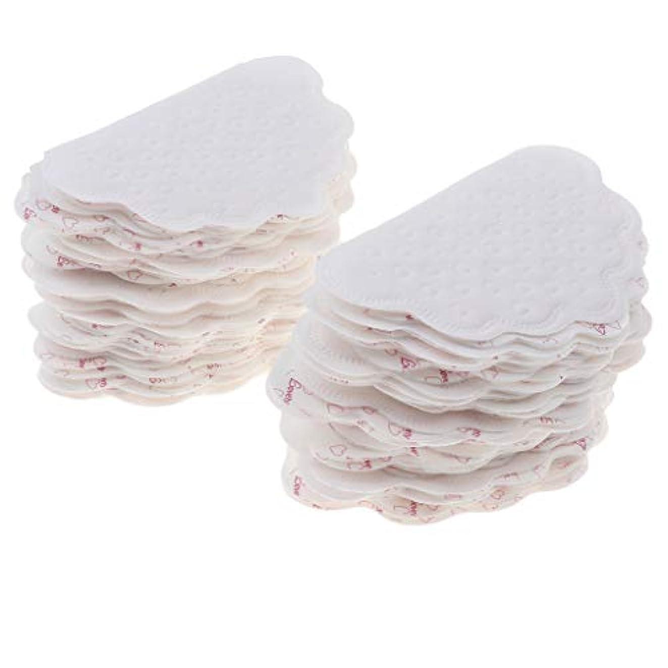 幻想的あご袋sharprepublic 全2色 わき汗パット あせジミ防止 汗取りパット 使い捨て 脇の汗染み防止 男女兼用 ランニング - 白