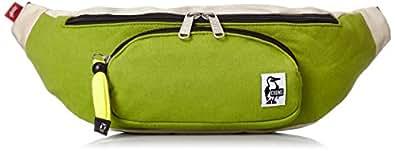[チャムス] CHUMS Fanny Pack Sweat Nylon CH60-0685 M018 (Green Ecru)