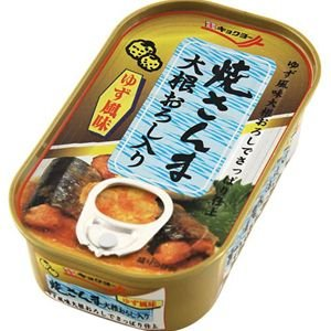 キョクヨー(極洋) 缶詰 焼さんま 大根おろし入り 100g 12個