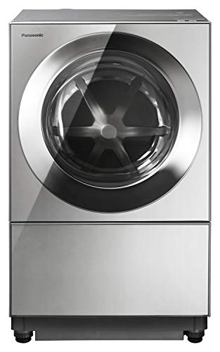 パナソニック ななめドラム洗濯乾燥機 Cuble(キューブル) 10kg 右開き プレミアムステンレス NA-VG2300R-X