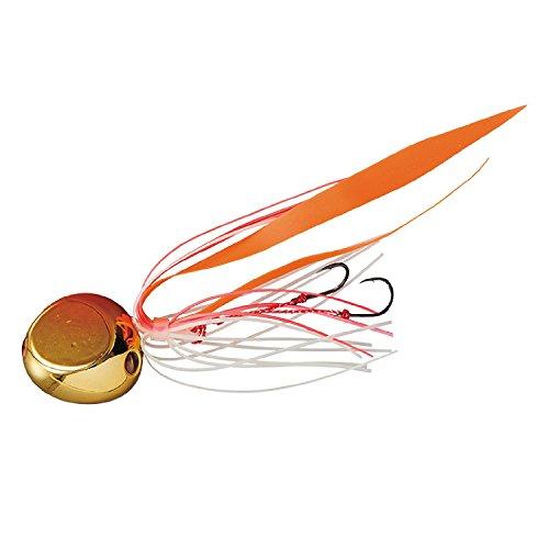 ダイワ(DAIWA) メタルジグ 紅牙 ベイラバーフリーα 250g 鍍金ゴールドオレンジ
