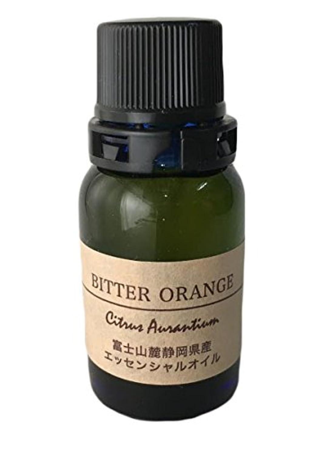 絶対のグラフィック環境に優しいエッセンシャルオイル ビターオレンジ 柑橘 系 精油 100% ピュア 【富士山麓 伊豆特産 アロマオイル】