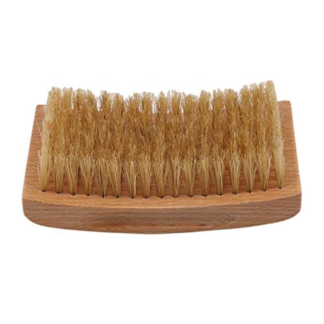 コンパイル持っているベックスKLUMA ひげブラシ シェービングブラシ 理容 洗顔 髭剃り 泡立ち 洗顔ブラシ 1#