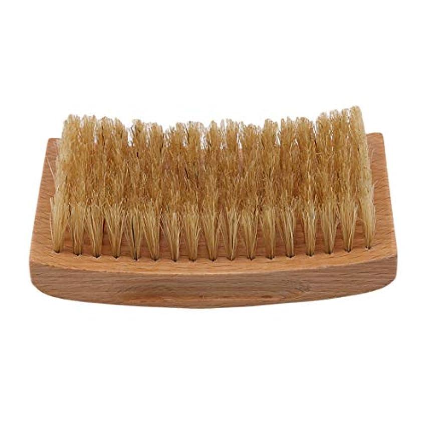 KLUMA ひげブラシ シェービングブラシ 理容 洗顔 髭剃り 泡立ち 洗顔ブラシ 1#