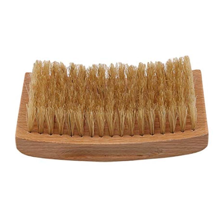 汗バルク大破KLUMA ひげブラシ シェービングブラシ 理容 洗顔 髭剃り 泡立ち 洗顔ブラシ 1#