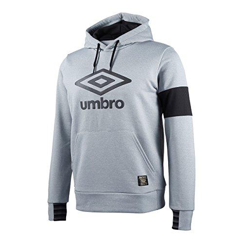 (アンブロ)UMBRO トレーニング ミックスカラーパイルフーデッドトップ UCA3658 [メンズ] MGRY L