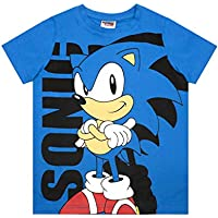 Vanilla Underground Sonic The Hedgehog Boys Blue Character Cartoon T-Shirt