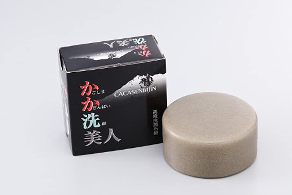 考古学的な科学者そっと桜島火山灰洗顔石鹸