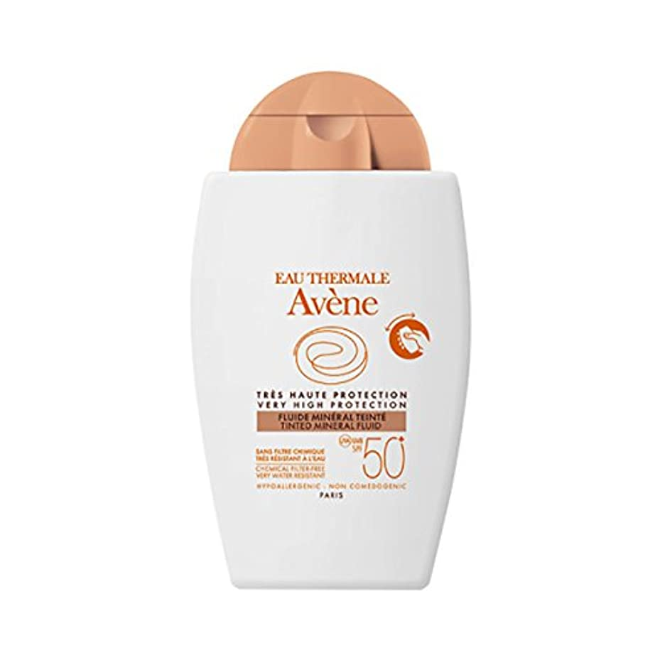 折り目全能神聖Av鈩e Sun Mineral Fluid With Colour Spf50+ 40ml [並行輸入品]