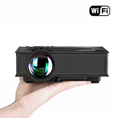 UNIC UC46 LEDプロジェクター 1080P WIF...