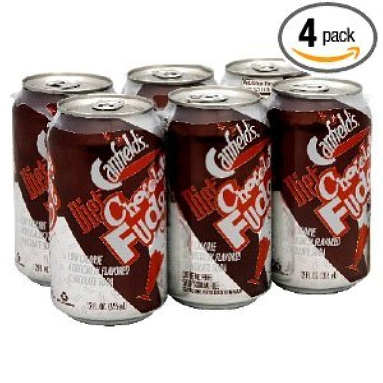 ペック取る環境に優しいキャンフィールド社 チョコレートファッジダイエットソーダー24本海外直送品