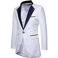 Men's Tuxedo Blazer One Button Tailcoat Dress Coat Suit Jacket