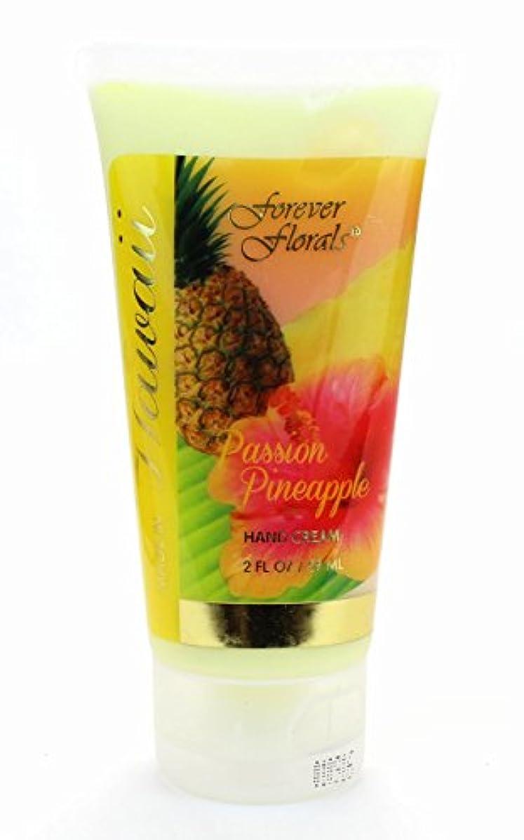 増強する圧縮素晴らしいですハワイアン雑貨 フォーエバーフローラルズ ハンドクリーム ハワイ お土産 (パッションパイナップル)