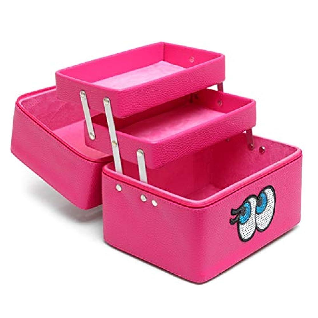 精査する自由抜け目がないメイクボックス 化粧品収納ボックス 多層 コスメボックス メイクケース スキンケア用品入れ 中身 コスメ収納 取っ手付き 持ち運び 防水 ファスナー 可愛い 防塵 鏡付き 機能的 プロ 化粧BOX