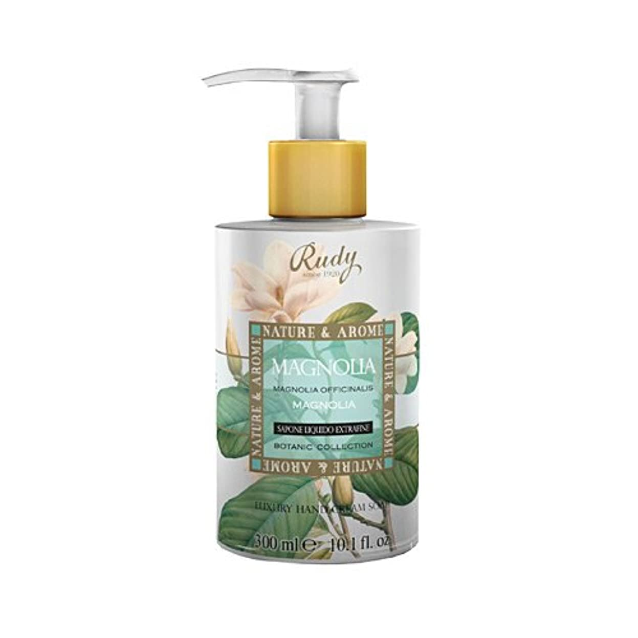 必要一元化するトチの実の木RUDY Nature&Arome SERIES ルディ ナチュール&アロマ Liquid Soap リキッドソープ マグノリア