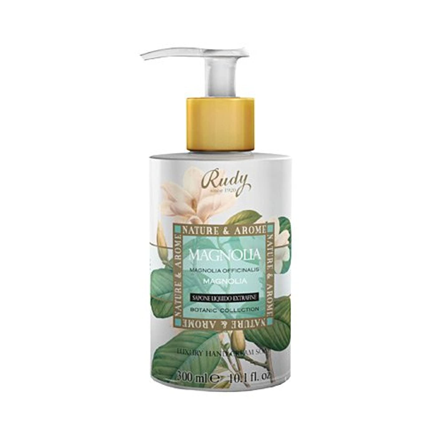 保護するコントラストサンダーRUDY Nature&Arome SERIES ルディ ナチュール&アロマ Liquid Soap リキッドソープ マグノリア