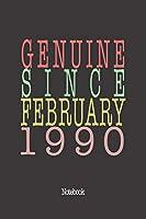 Genuine Since February 1990: Notebook