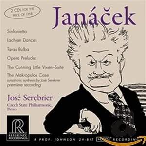 Janacek : Sinfonietta,Taras Bulba, etc.