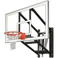 最初チームwallmonster Arena壁マウント調整可能バスケットボールフープ
