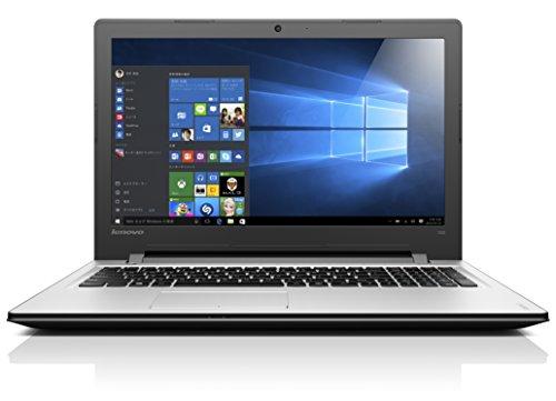 Lenovo ノートパソコン IdeaPad 300 80M300GXJP / Windows 10 Home 64bit / 15.6インチ / Celeron N3060 / プラチナシルバー
