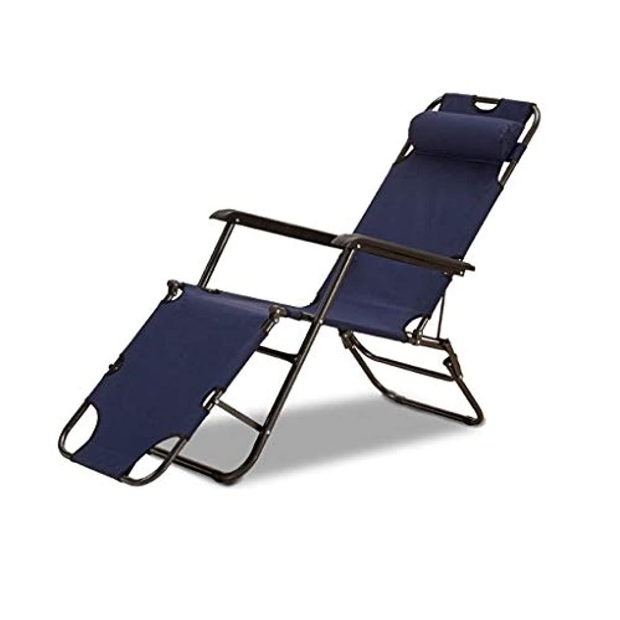 侵入キャプション売り手折りたたみベッドラウンジチェアゼロ重力チェア、枕調節可能なデッキチェアデッキ、ビーチレイジーチェア/高齢者チェア付き屋外キャンプラウンジパティオチェア