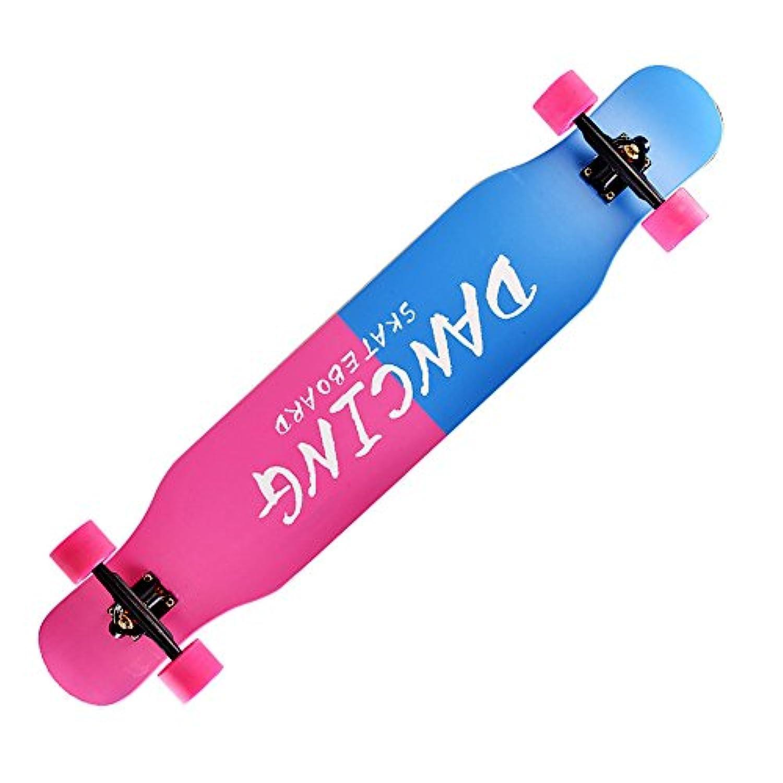 スタイリッシュなデザインで完全なクルーザースケートボードプラスチックマルチカラー&クールグラフィックス (Color : Blue1)