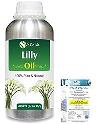 Lilly (Lilium auratum) 100% Natural Pure Essential Oil 2000ml/67 fl.oz.