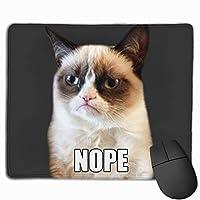 不機嫌そうな猫のいない表現 マウスパッド ノンスリップ 防水 高級感 習慣 パターン印刷 ゲーミング ホビー 事務 おしゃれ 学習