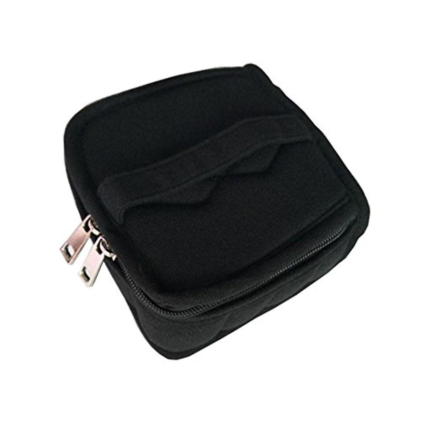 どうやってショッキングクリーナーPursue エッセンシャルオイル収納ケース アロマオイル収納ボックス アロマポーチ収納ケース 耐震 携帯便利 香水収納ポーチ 化粧ポーチ 9本用