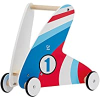 Hape Racing Stripes Wooden Push and Pull Walker [並行輸入品]