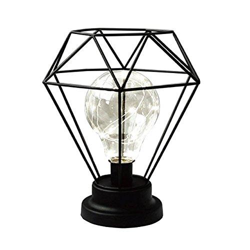 【北欧生活icoi】持ち運べる テーブルランプ 照明器具 コードレス ダイア型 電池式 北欧インテリア 間接照明 リビング雑貨 卓上ライト テーブルライト おしゃれ ブラック