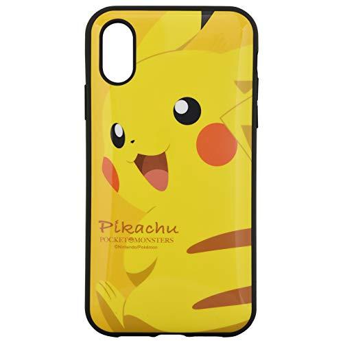 13927f3a58 グルマンディーズ ポケットモンスター iPhoneXR(6.1インチ)対応IIIIfitケース ピカチュウ poke-605a