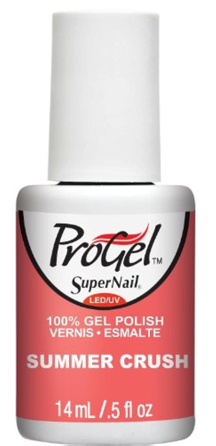 差し迫ったファウル凍結SuperNail ProGel Gel Polish - Summer Crush - 0.5oz / 14ml