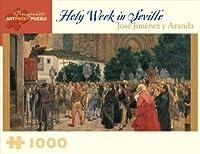 Pomegranate 1000 Piece Jigsaw Puzzle Jose Jimenez y Aranda Holy Week in Seville