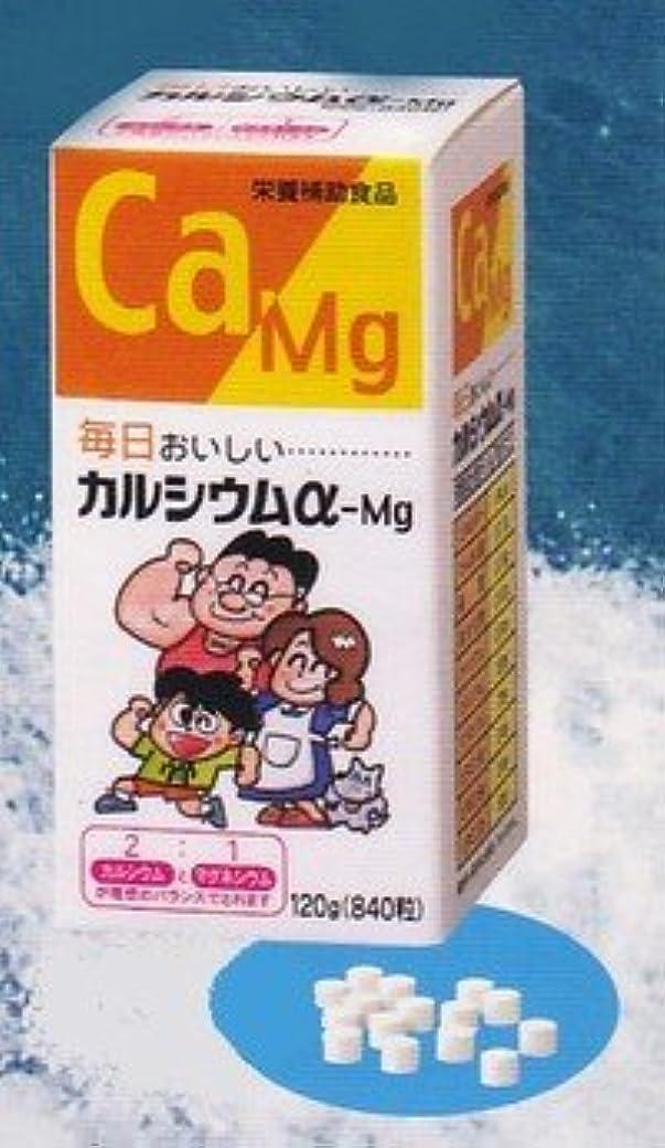 迷路岸ライラックカルシウムα-Mg錠剤
