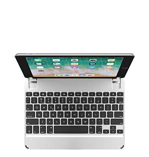 Brydge iPad Air Air 2 & iPad Pro (9.7インチ) 用 Bluetooth ワイヤレス 一体化型 アルミニウム キーボード ケース スペースグレー